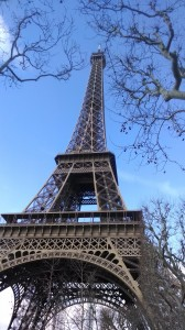Eiffel Tower, January 19, 2014