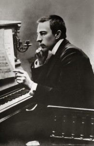 Rachmaninoff at the time of the 2nd concerto
