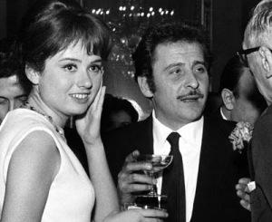 Gigliola Cinquetti and composer Domenico Modugno in 1966