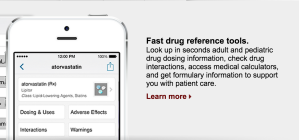 Medscape iPhone app provides drug dose information