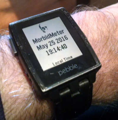 Get it on the Pebble App Store